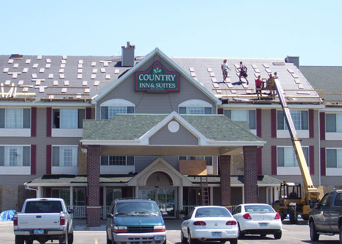 BD Exteriors Commercial Roofing - Mankato Country Inn & Suites