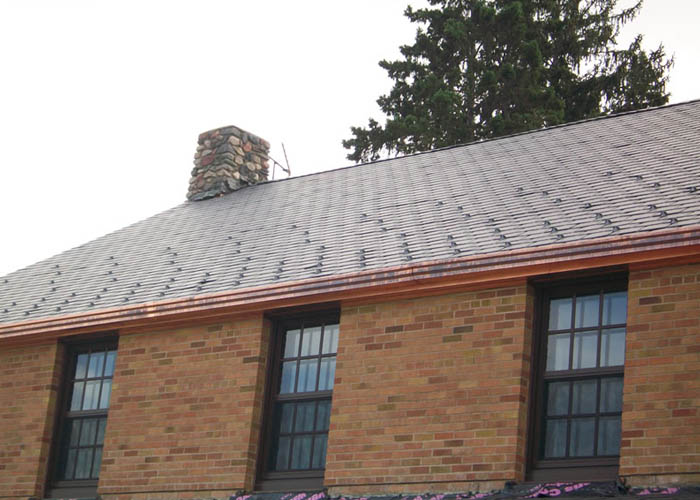 BD Exteriors Commercial Roofing - Camp Ripley Slate roof