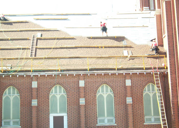 BD Exteriors Commercial Roofing - St. Nicholas Church Roof Remodel