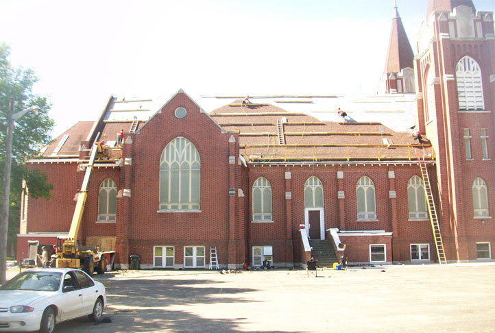 Commercial Roofing - St. Nicholas Church1
