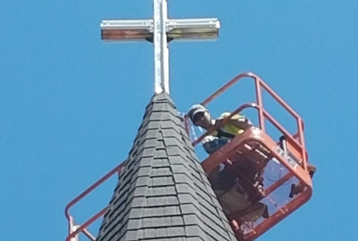 Commercial Roofing - Church 11