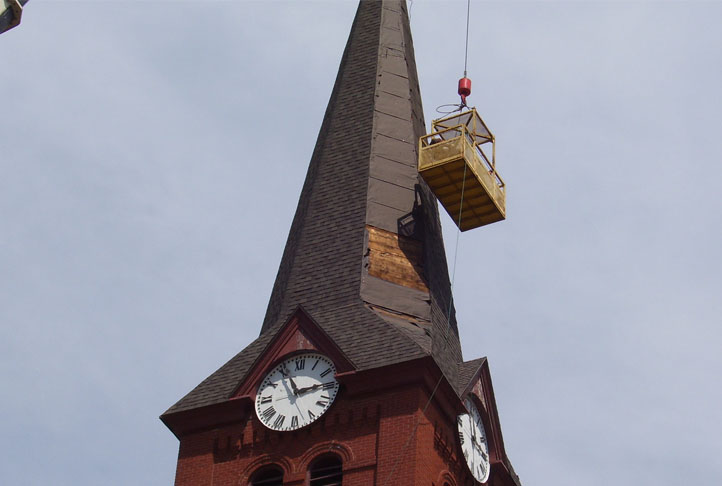 Commercial Roofing - Clock Tower13