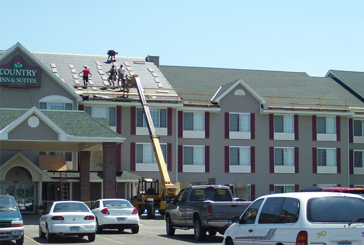 Commercial Roofing - Country Inn & Suites