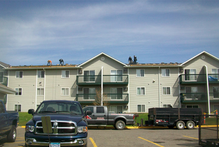 Commercial Roofing - Apartment Complex-24