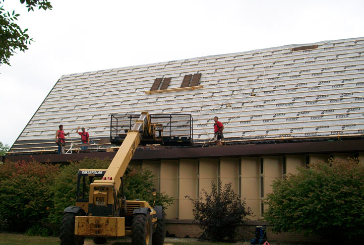 Commercial Roofing - Church-25