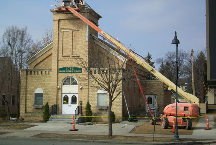 Commercial Roofing - Islamic Center of St. Cloud