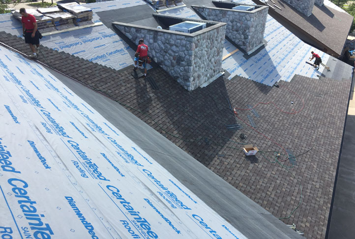 Commercial Roofing Project - Craguns Resort