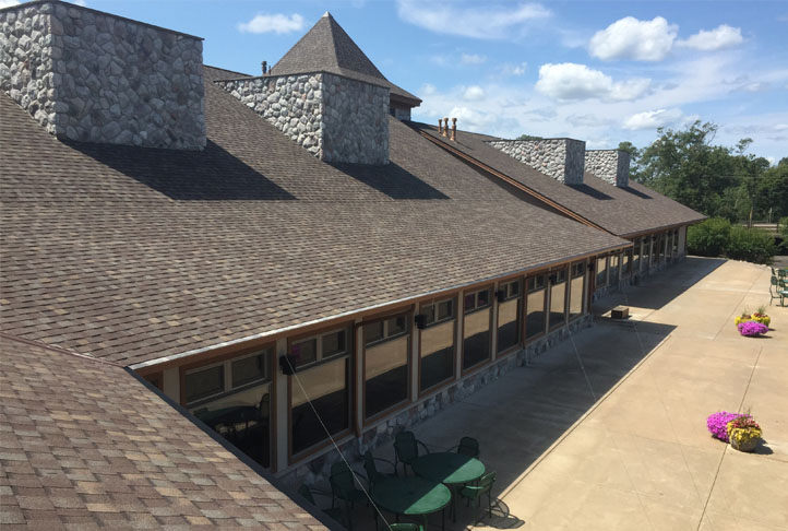 Commercial Roofing Project - Craguns Resort-2