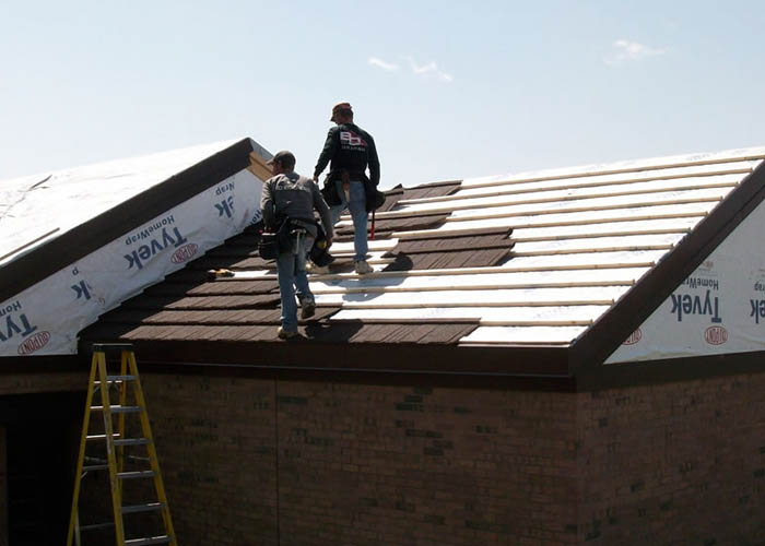 BD Exteriors Metal Shingles - St. Cloud, Shingle Installation