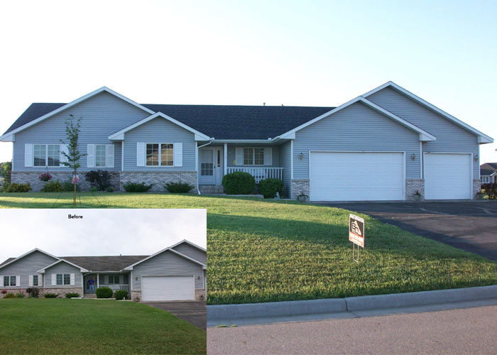BD Exteriors Roofing Before and After 2