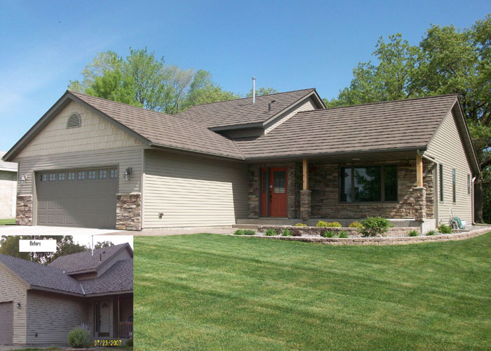 BD Exteriors Roofing Before and After 3