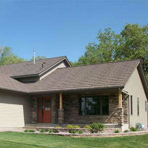 We're proud to offer the greatest system on the market – Metro stone-coated metal roofing.