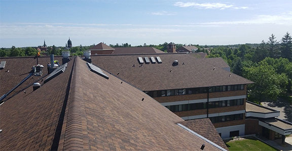College of Saint Benedict & Saint John's University Commercial Roofing